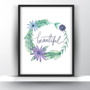 Beautiful Printable Wall Art