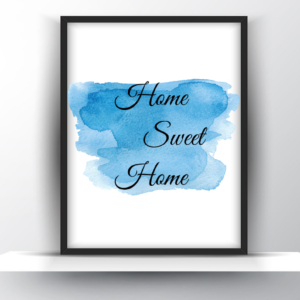 Home Sweet Home Printable Wall Art