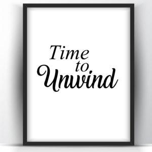 Time to Unwind printable