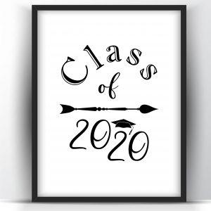 Class of 2020 – Printable Wall Art
