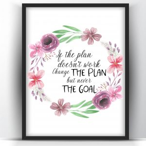 If the Plan- Floral