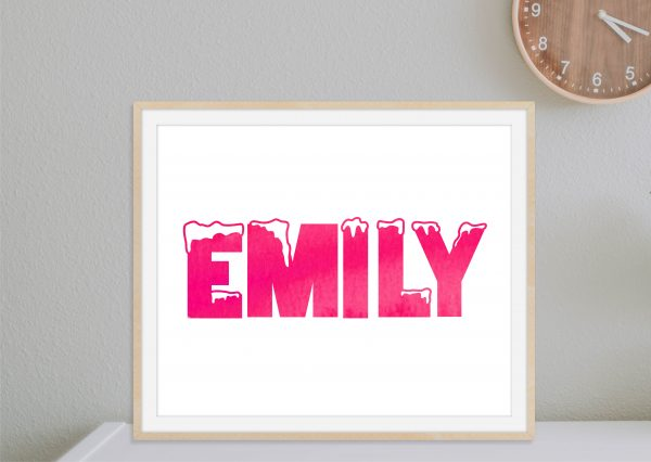 Personalized Name Design Add Your Name 1c
