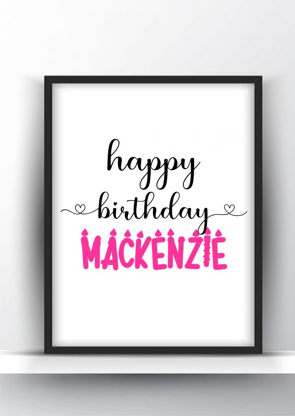 Personalized Name Design Add Your Name 5a