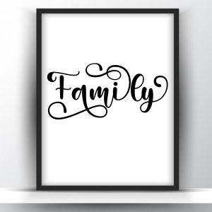 Family Printable Wall Art